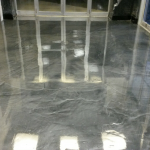 Metallic Marble Epoxy Decorative Concrete Vestibule